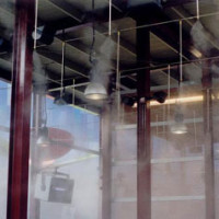 Industrial misting system