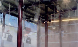 Industrial misting systems